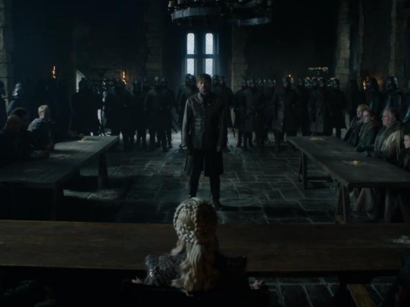 إعلان الحلقة الثانية من مسلسل صراع العروش Game of Thrones الجزء الثامن عبر HBO