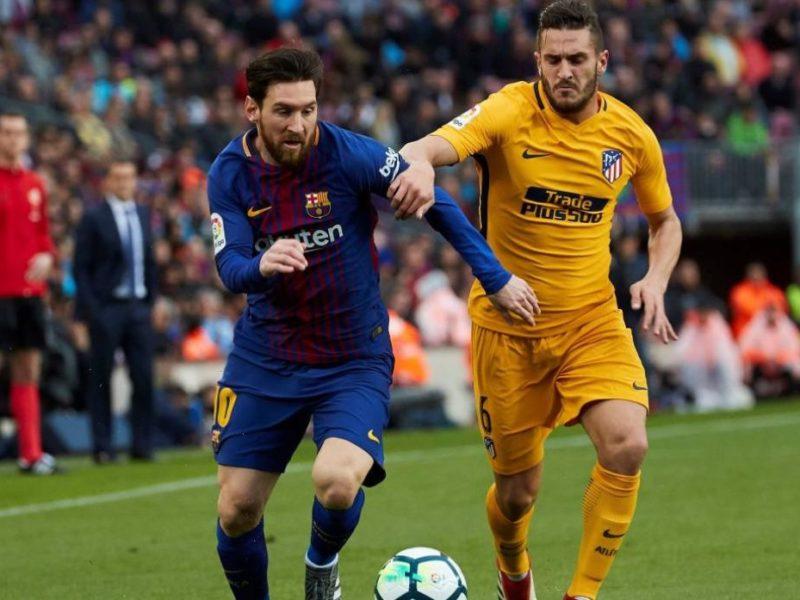 برشلونة يتطلع لحسم لقب الدوري الإسباني مبكرا من بوابة أتلتيكو مدريد