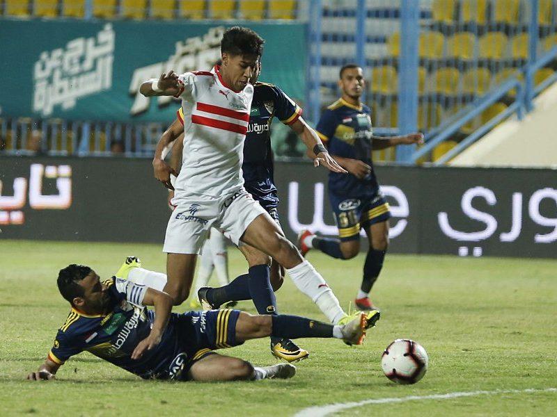الزمالك يتعادل أمام الإنتاج الحربي في الدوري المصري