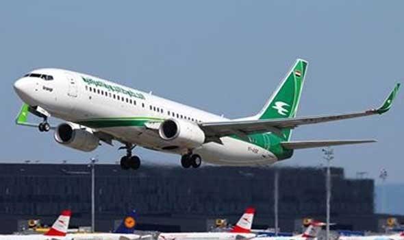 العراق تستأنف الرحلات الجوية إلى سوريا