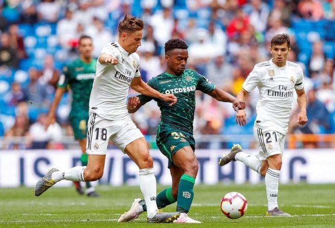 ريال مدريد ينهي الموسم بالسقوط أمام بيتيس بهدفين