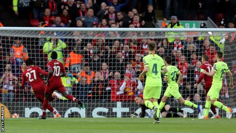 ليفربول يحقق ريمونتادا تاريخية على برشلونة ويتأهل لنهائي الأبطال