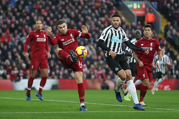 موعد مباراة ليفربول ونيوكاسل اليوم 4/5/2019 الجولة 37 في الدوري الانجليزي