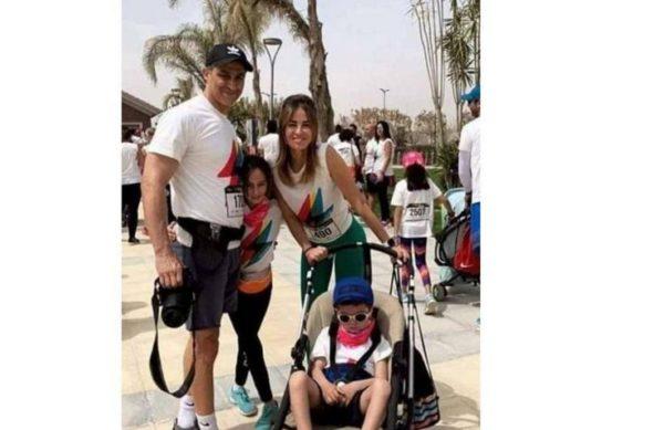 مصر: أصغر أفراد أسرة مبارك يظهر لأول مرة
