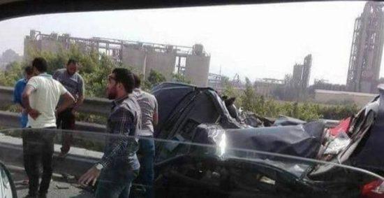 وفاة 14 شخص إثر حادث مروع في القاهرة