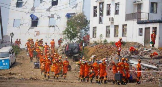 زلزال قوي يضرب جنوب غرب الصين بقوة 6 درجات
