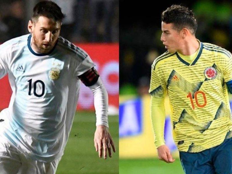 موعد مباراة الارجنتين ضد كولومبيا اليوم والقنوات الناقلة كوبا أمريكا 2019
