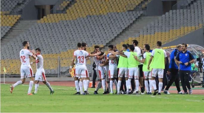 الزمالك يتغلب على المقاصة ويتأهل لنصف نهائي كأس مصر
