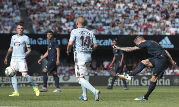 ريال مدريد يفتتح الدوري الاسباني بثلاثية في مرمى سيلتا فيجو