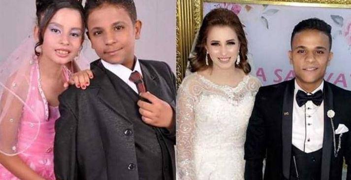زواج أصغر عروسين في مصر المثير للجدل