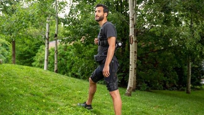 ابتكار شورت آلي أسهل في المشي والركض