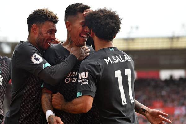 ليفربول يحقق فوزاً صعباً على ساوثهامبتون في الجولة الثانية من الدوري الانجليزي