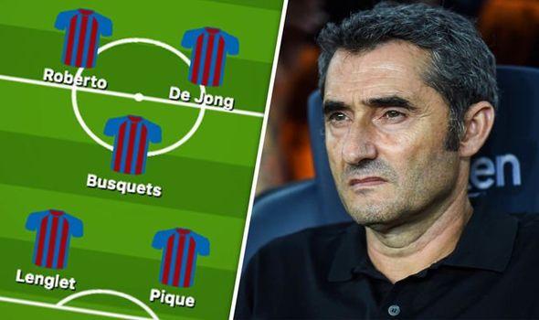 تشكيلة برشلونة لمواجهة أوساسونا بالدوري الإسباني