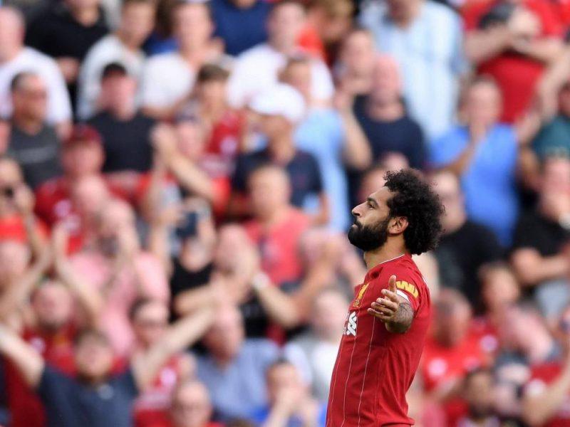 محمد صلاح يقود ليفربول للفوز على ارسنال وتزعم الصدارة واليونايتد يسقط على أرضه