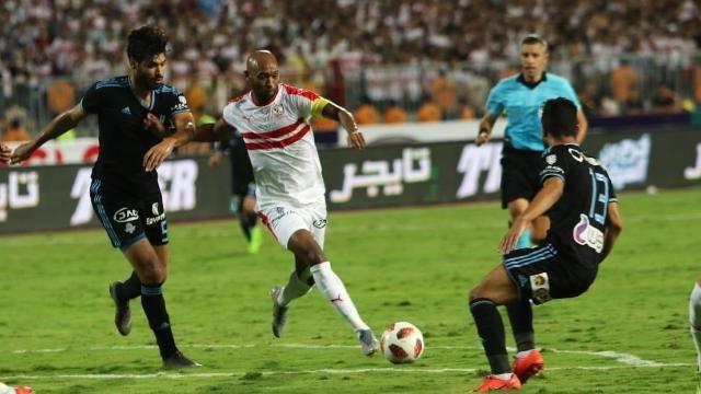 الزمالك بطلاً لكأس مصر على حساب بيراميدز
