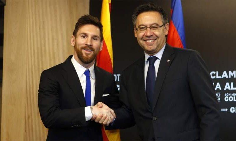 بارتوميو: ميسي يمكن أن يغادر برشلونة نهاية الموسم