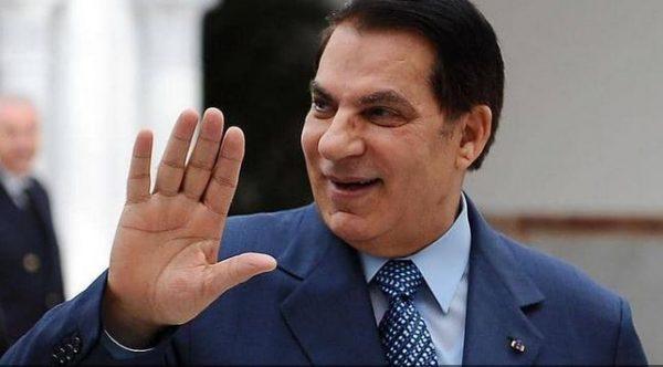 رحيل الرئيس التونسي السابق زين العابدين بن علي