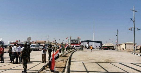 العراق: عودة فتح معبر القائم الحدودي مع سوريا