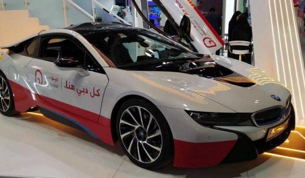 دبي تكشف عن السيارة الجيومكانية الأولى من نوعها